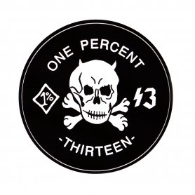 1%13 Original New Design Sticker