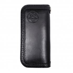 BLACK DiAMOND Leather Wallet