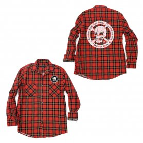 DEATH OR GLORY Custom Flannel Shirt 1