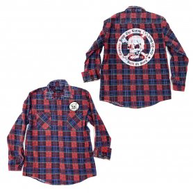DEATH OR GLORY Custom Flannel Shirt 2