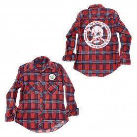 DEATH OR GLORY Custom Flannel Shirt 3