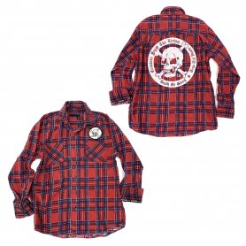 DEATH OR GLORY Custom Flannel Shirt 5