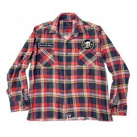 DEATH OR GLORY Custom Flannel Shirt Type-G【L】