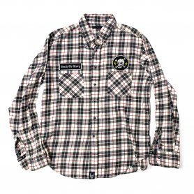 DEATH OR GLORY Custom Flannel Shirt Type-H【L】