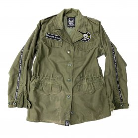 DEATH OR GLORY Custom Military Jacket