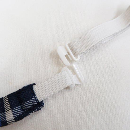 スクール リボン 女子高生 (ブルーチェック)新柄 全17種類 正規品 JK制服 メール便 送料無料【画像9】