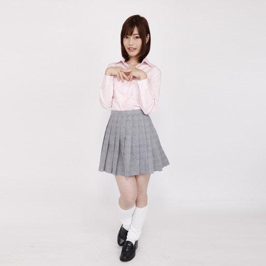 ブラウス (ピンク)全3種類 正規品JK制服 スクールブラウス メール便 送料無料【画像2】