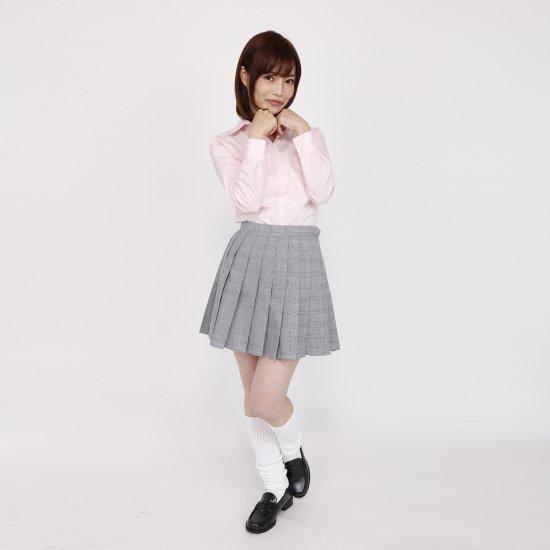 ブラウス (ピンク)全3種類 正規品JK制服 スクールブラウス メール便 送料無料【画像3】