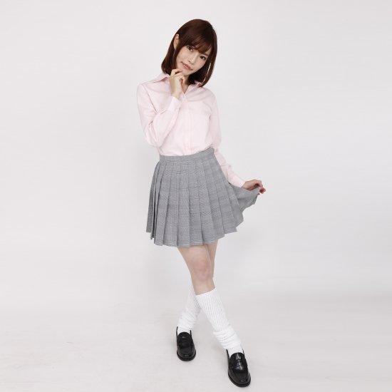 ブラウス (ピンク)全3種類 正規品JK制服 スクールブラウス メール便 送料無料【画像4】