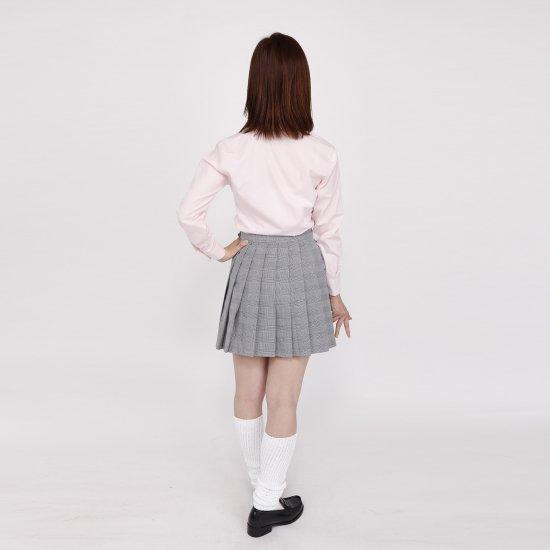 ブラウス (ピンク)全3種類 正規品JK制服 スクールブラウス メール便 送料無料【画像5】