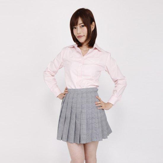 ブラウス (ピンク)全3種類 正規品JK制服 スクールブラウス メール便 送料無料【画像7】