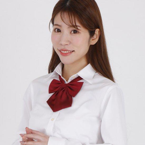 スクール リボン 女子高生 (エンジ無地)全17種類 正規品 JK制服 【画像6】