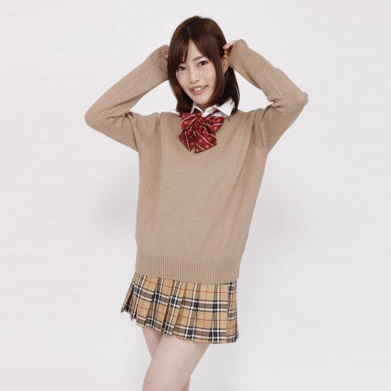 スクール リボン 女子高生 ( エンジ紋章 × ストライプ ) 全17種類 正規品 JK制服 メール便 送料無料【画像8】