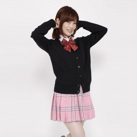 スクール リボン 女子高生 ( エンジ紋章 × ストライプ ) 全17種類 正規品 JK制服 メール便 送料無料【画像9】