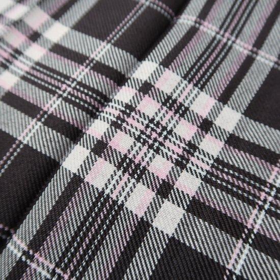 プリーツスカート (ブラウン×ピンク) NEW 全20種類 正規品 JK制服 スクールスカート メール便 送料無料【画像11】