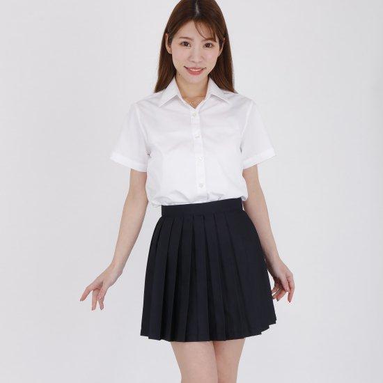 プリーツスカート ( 紺無地 ) NEW 全21種類 正規品 JK制服 スクールスカート メール便 送料無料【画像2】