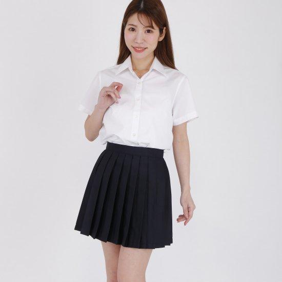 プリーツスカート ( 紺無地 ) NEW 全20種類 正規品 JK制服 スクールスカート メール便 送料無料【画像4】