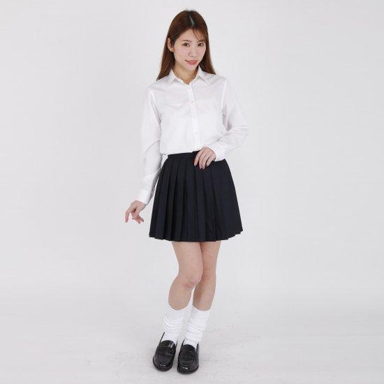 プリーツスカート ( 紺無地 ) NEW 全20種類 正規品 JK制服 スクールスカート メール便 送料無料【画像5】