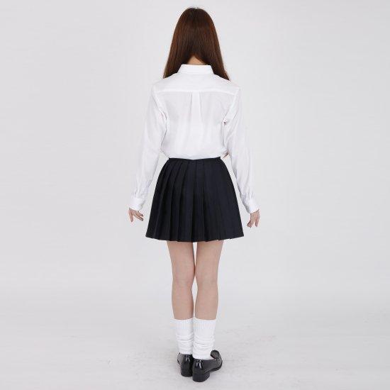 プリーツスカート ( 紺無地 ) NEW 全21種類 正規品 JK制服 スクールスカート メール便 送料無料【画像6】
