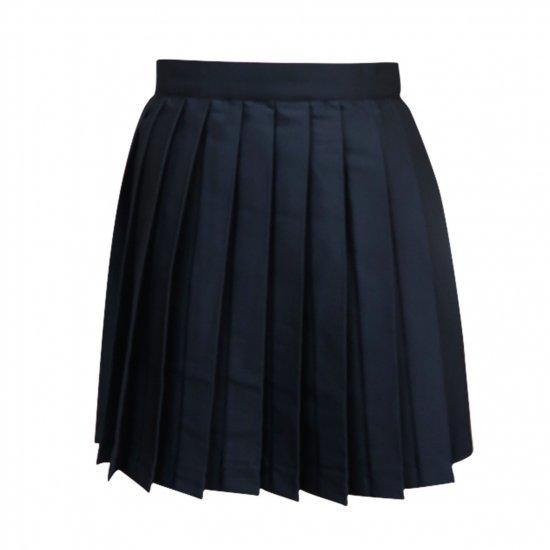 プリーツスカート ( 紺無地 ) NEW 全21種類 正規品 JK制服 スクールスカート メール便 送料無料【画像8】