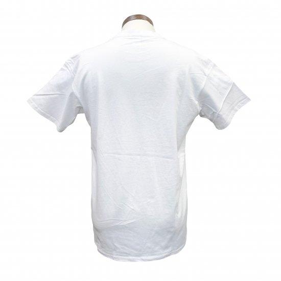 あなたは読める? 面白 漢字 Tシャツ 「夜露死苦 よろしく」 白T クールジャパン 4.8oz 160GMS コットンTシャツ【画像3】