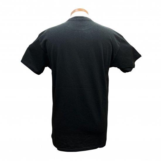 あなたは読める? 面白 漢字 Tシャツ 「夜露死苦 よろしく」 黒T クールジャパン 4.8oz 160GMS コットンTシャツ【画像3】