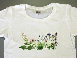 Tシャツ (ハーブガーデン/女性用).abc