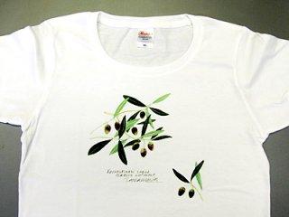 Tシャツ (オリーブ/女性用).abc