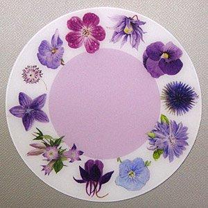 PP製 コースター (紫の花).abc