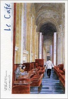 ポストカード「カフェ・マルリー」.abc