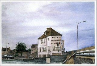 ポストカード「オテル・ド・ラメール」.abc