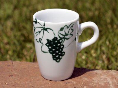 緑のブドウ マグカップ No.4.abc