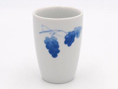 湯のみ(二つの青いブドウ).abc