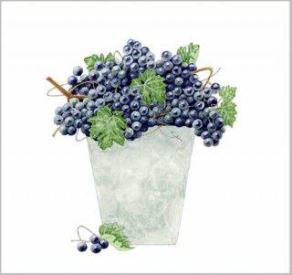 版画 「葡萄鉢」.abc