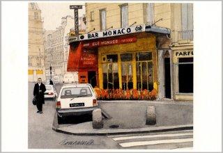 ポストカード「カフェ・モナコ」.abc