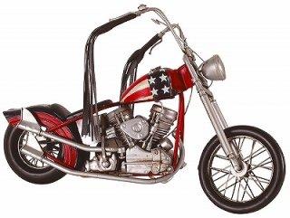 ブリキのおもちゃ バイク(01)