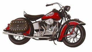 ブリキのおもちゃ バイク(08)