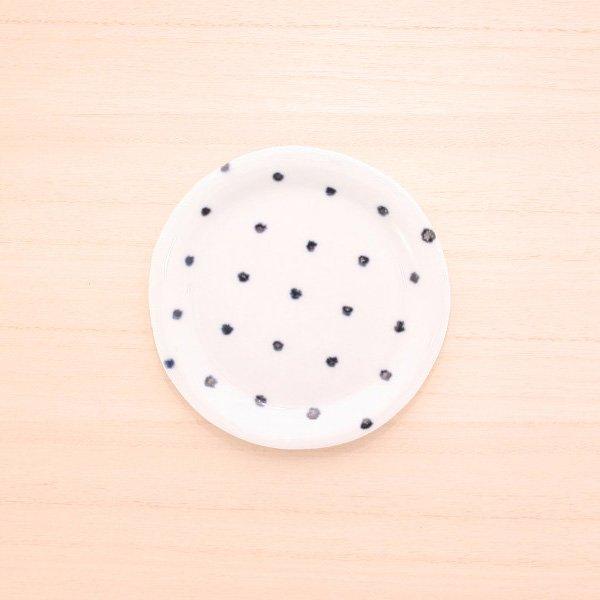 砥部焼・雲石窯 − 手づくり小皿 さしこ