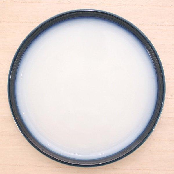 砥部焼・ヨシュア工房 − パスタ皿 内白