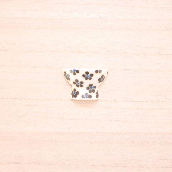 砥部焼・すこし屋 − はし置き 茶碗 小紋