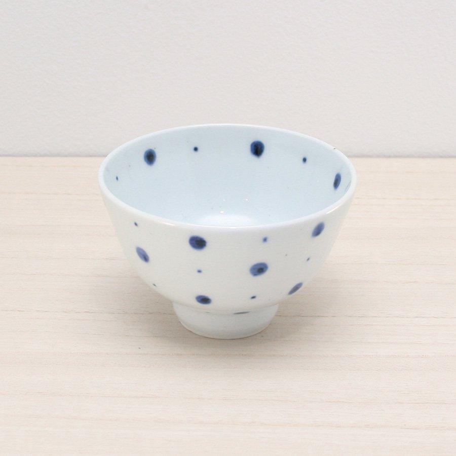 砥部焼・陶房 遊 − めし碗 S ブループラネット