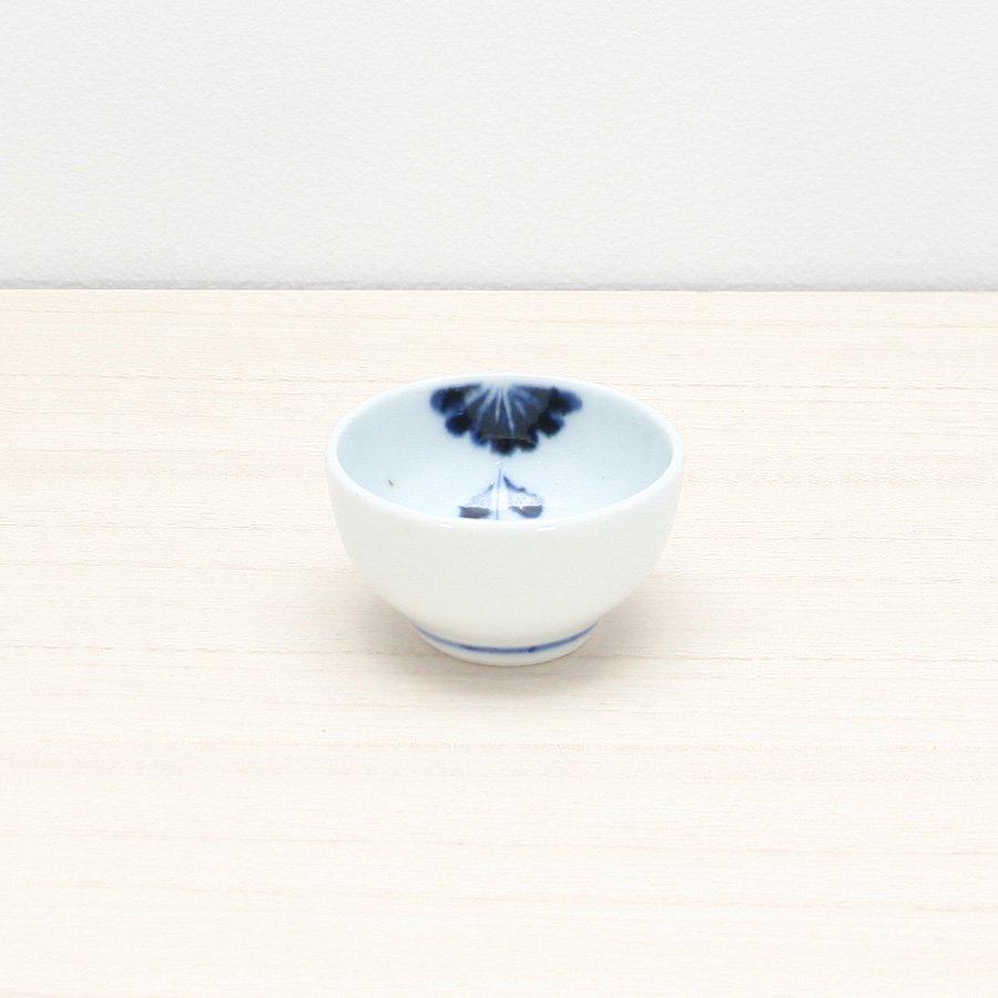 砥部焼・陶房 遊 − 豆々鉢 菊つなぎ