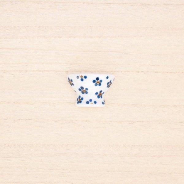 砥部焼・すこし屋 − はし置き 茶碗 青小紋