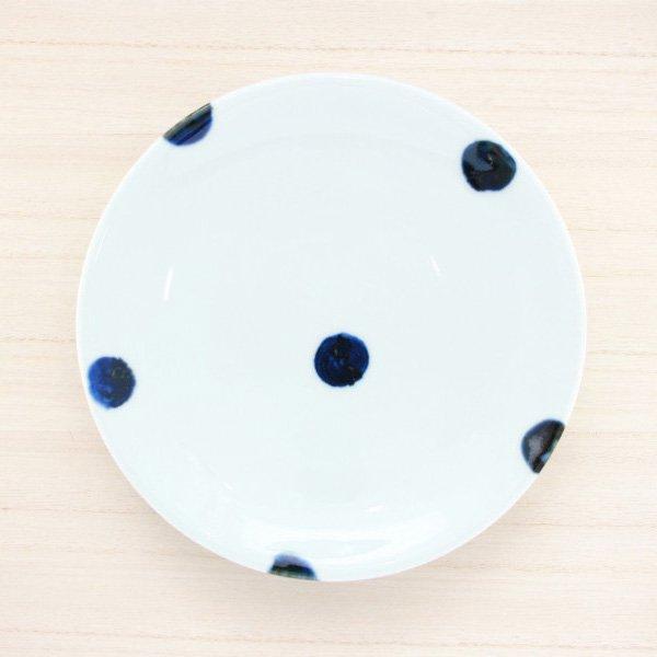 砥部焼・雲石窯 − 6寸皿 太丸