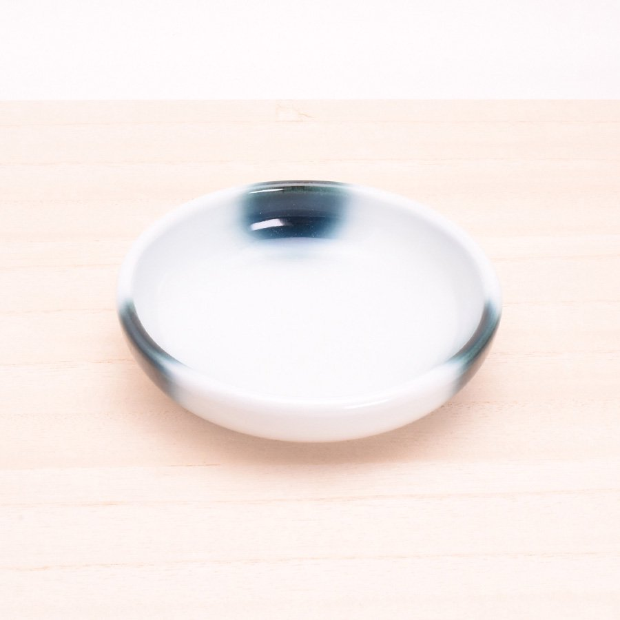 砥部焼・ヨシュア工房 − 小鉢 浅 まりも