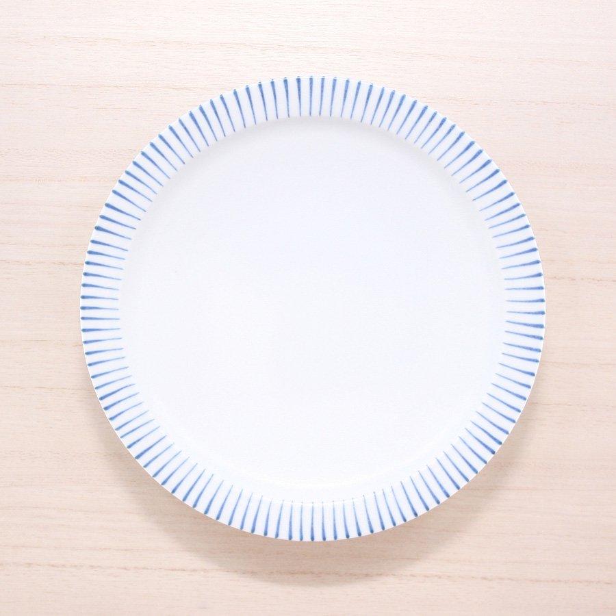 砥部焼・すこし屋 − 5.5寸皿 青十草