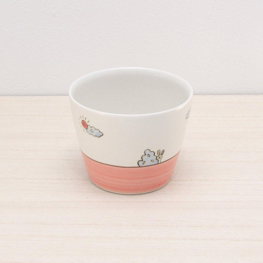 砥部焼・すこし屋 − そば猪口 ピンク