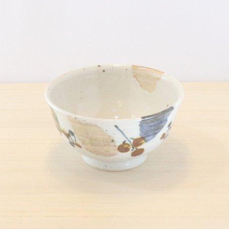 砥部焼・森陶房 − 茶碗 大 木の葉