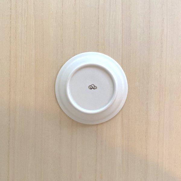 砥部焼・すこし屋 − 豆皿 さんぽみち 朱