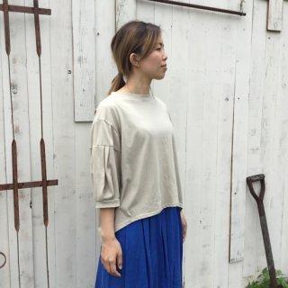 【麻と木と・・・】<br>オリジナル<br>バフスリーブTシャツ